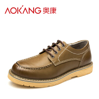劲浪男鞋 低帮工装鞋 男士户外休闲登山鞋潮流英伦男鞋