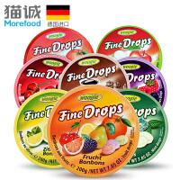 【德国进口】Woogie铁盒水果糖果200g 进口糖果喜糖休闲零食品