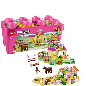 [当当自营]LEGO 乐高 小拼砌师系列 小马农场 积木拼插儿童益智玩具 10674