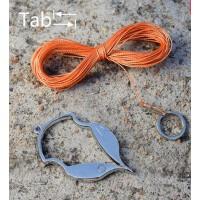 垂钓 钓鱼用品 不钓鱼竿取回浮漂便携工具 锈钢挂底脱钩器台
