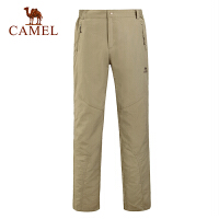 camel骆驼户外男款速干长裤 春夏新款透气快干速干长裤子