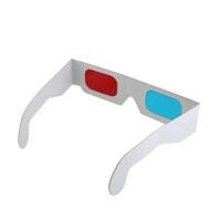 卡纸3D眼镜 3D红蓝纸眼镜 纸质3D眼睛 纸制3D红蓝眼镜