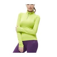 女户外运动长袖健身服新款运动针织T恤透气瑜伽服上衣