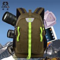 申派相机包双肩 索尼康摄影包 男背包单反包 650d 700d佳能相机包 SY18 专业双肩摄影包 男女佳能尼康单反数码相机包 休闲旅行背包
