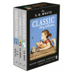 E.B. White Classic Story Collection 《E.B.怀特经典故事集》(夏洛特的网、精灵鼠小弟、吹小号的天鹅)9780141343433