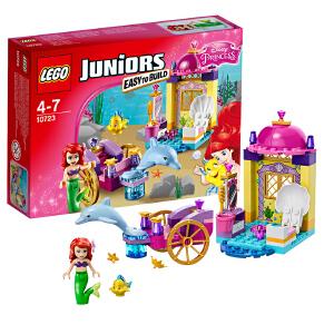 [当当自营]LEGO 乐高 小拼砌师系列 美人鱼爱丽儿的海豚车 积木拼插儿童益智玩具 10723