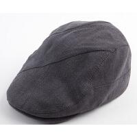 时尚棉麻贝雷帽    帽子 男士   韩版 潮女户外鸭舌帽   遮阳帽太阳帽