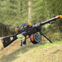 东发 电动玩具枪 声光冲锋枪 儿童玩具手枪男孩玩具 狙击枪机关枪
