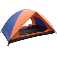 户外露营篷 双人双层防雨野营帐篷 遮阳钓鱼沙滩帐