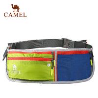 camel骆驼户外跑步腰包 男女款多功能扣具腰包