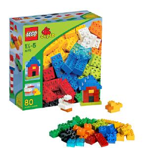 [当当自营]LEGO 乐高 duplo得宝创意系列 基础大盒装 积木拼插儿童益智玩具 6176