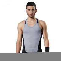健身背心健美运动服训练健身房工作服 健身教练服