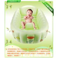 韩版便携充气式婴儿浴盆 婴儿浴缸 浴盆 婴幼儿专用