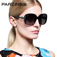 帕森新款时尚大框偏光太阳镜 女士潮墨镜 司机开车驾驶镜9511