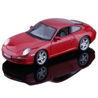 [当当自营]★ Maisto 美驰图 合金车模 保时捷 911 Carrera 31692 玫瑰红 1:18