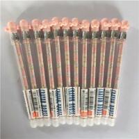 晨光文具 AKPA7404A热可擦中性笔易擦带橡皮黑蓝 0.5mm可爱水笔