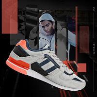 鸿星尔克男鞋跑步鞋 新品复古慢跑鞋男舒适耐磨运动鞋男