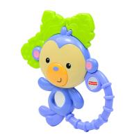 [当当自营]Fisher Price 费雪 缤纷动物之小猴子牙胶摇铃组 婴儿玩具 Y6584