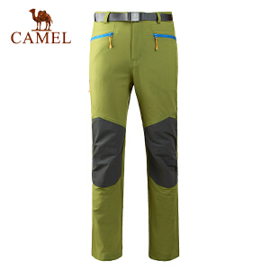 camel骆驼户外速干裤 春季新款户外男徒步速干透气长裤快干裤
