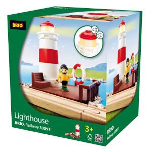 [当当自营]BRIO 声光灯塔 儿童益智拼插木制轨道小火车玩具 BR33597