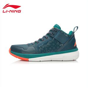 李宁男女子运动鞋情侣码校园CBA战靴中帮篮球鞋运动鞋ABPK061