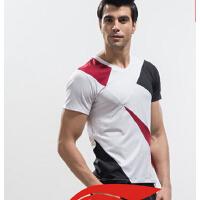男士户外运动休闲上衣短袖男健身教练服百搭时尚上衣