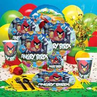 孩派 儿童生日派对装饰用品 生日聚会布置道具 愤怒的小鸟主题