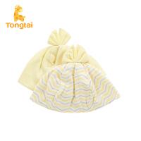 童泰新款纯棉新生儿帽子男女宝宝用品婴幼儿新品胎帽套头帽
