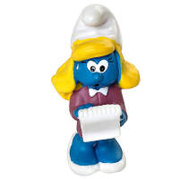 [当当自营]Schleich 思乐 蓝精灵系列 经理蓝妹妹 仿真塑胶模型收藏玩具动漫周边 S20770