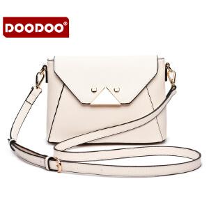 DOODOO 2017新款时尚包包女包欧美潮流百搭春冬款单肩斜跨女士小包包 D5161