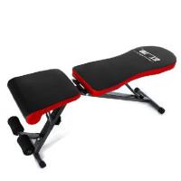 折叠仰卧板哑铃凳家用健身器材起坐板运动器材体育用品