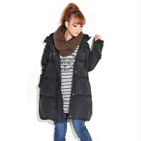 慈颜CIYAN 韩版孕妇装 时尚孕妇冬装棉衣 孕妇丝绵外套YYF7851