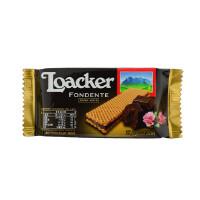 [当当自营] 奥地利进口 莱家 Loacker 莱家黑巧克力味夹心威化 37.5g