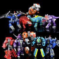 儿童变形玩具机器人金刚4恐龙合体修罗王模型 钢锁钢索星空救援队