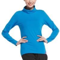 户外休闲运动女款时尚修身高领长袖T恤衫打底衫