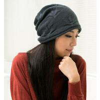新款女款时尚休闲韩版潮流休闲帽子女户外针织帽