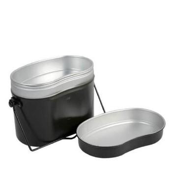 户外野营饭盒 便携炊具便当盒餐盒野炊加热学生饭盒