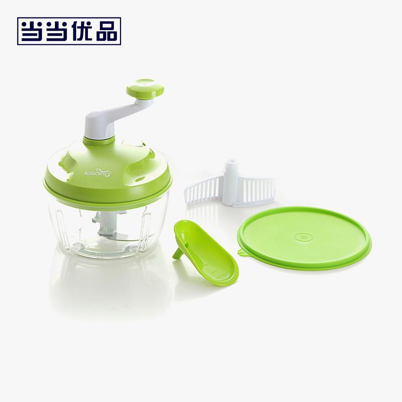 当当优品 多功能绞碎器 碎菜器 绿色当当自营 多种功能集一身 厨房神器