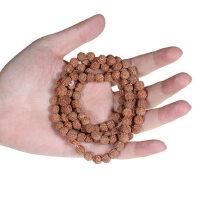 天然尼泊尔5瓣金刚菩提108颗 佛珠手串 金刚菩提子原籽
