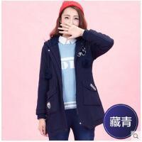 少女外套新款毛呢韩版女中长款呢子大衣外套