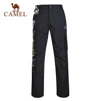 camel骆驼户外速干裤 男士春夏新款易干透气排汗速干长裤快干裤