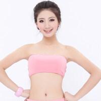 新款女士休闲瑜伽服抹胸 运动健身瑜珈服(单上衣)