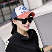 韩版潮情侣棒球帽男女士遮阳帽女鸭舌帽牛仔帽帽子