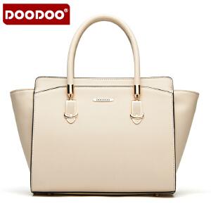 DOODOO 2017新款包包时尚女包欧美风翅膀蝙蝠包单肩斜跨包女士大包包 D5006 【支持礼品卡】