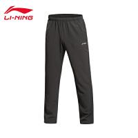 李宁跑步系列男装平口运动长裤AYKK157