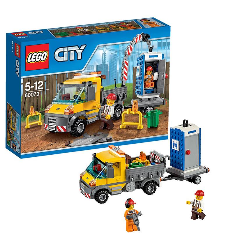 [当当自营]LEGO 乐高 CITY城市系列 工程搬运车 积木拼插儿童益智玩具 60073【当当自营】乐高3月份新品 适合5-12岁,233pcs 小颗粒积木