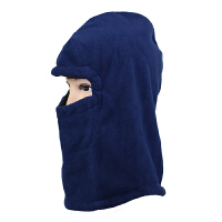 新款 双层加厚防风保暖围脖 头套蒙面护耳 抓绒帽子
