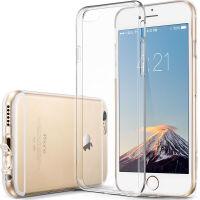 【当当自营】 ESR亿色 iPhone6s Plus/6 Plus手机壳 硅胶透明防摔软壳 初色零感系列 �ㄠ�白
