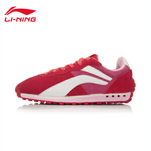 李宁女鞋3KM II LTR运动生活系列复古经典休闲鞋运动鞋ALCK136