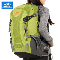 Topsky 户外登山包旅行背包男女双肩包防水旅游野营徒步包35L